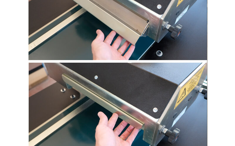 Macchina Double Wiper per lavorazione parquet