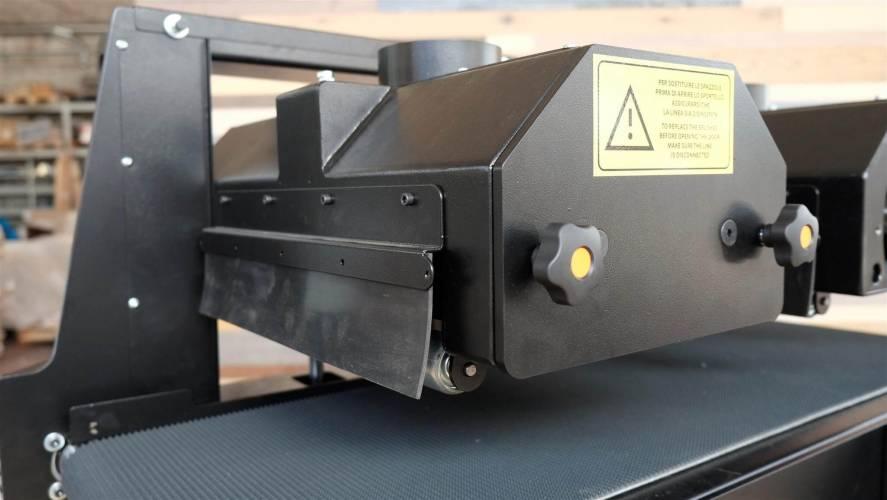 Rustica Two: macchina da spazzolatura e carteggiatrice per parquet